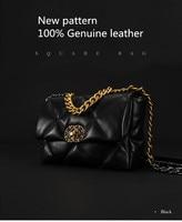 The single shoulder Handbag Genuine leather luxury handbags women bags designer crossbody bags for women Nu Zhen leather bag
