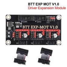 Peças da impressora 3d para skr v1.3 skr v1.4 turbo skr pro tmc2209 tmc2208 bigtreetech módulo btt exp mot v1.0 driver módulo de expansão