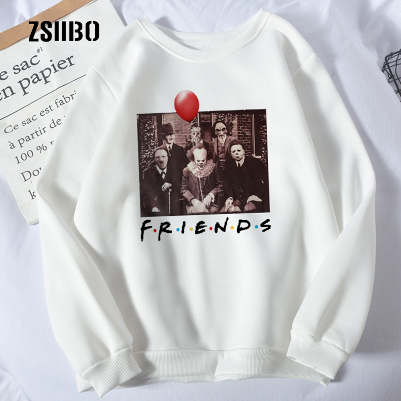 Friends Characters Women/'s Sweatshirt