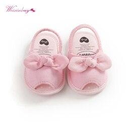 Chico bebé chica agradable arco sandalias fiesta princesa Sandalias Zapatos de playa de verano recién nacido suave suela suave zapatos