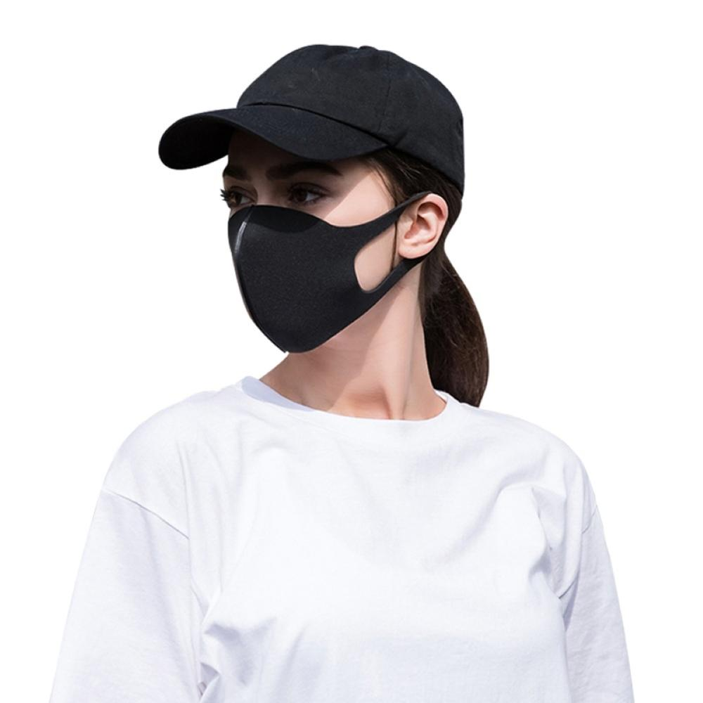 K57 Dust Wind Proof Anti Haze Washable Reusable Solid Color Safety Mask Cycling Masks Protective Mouth Face Space Cotton Masks