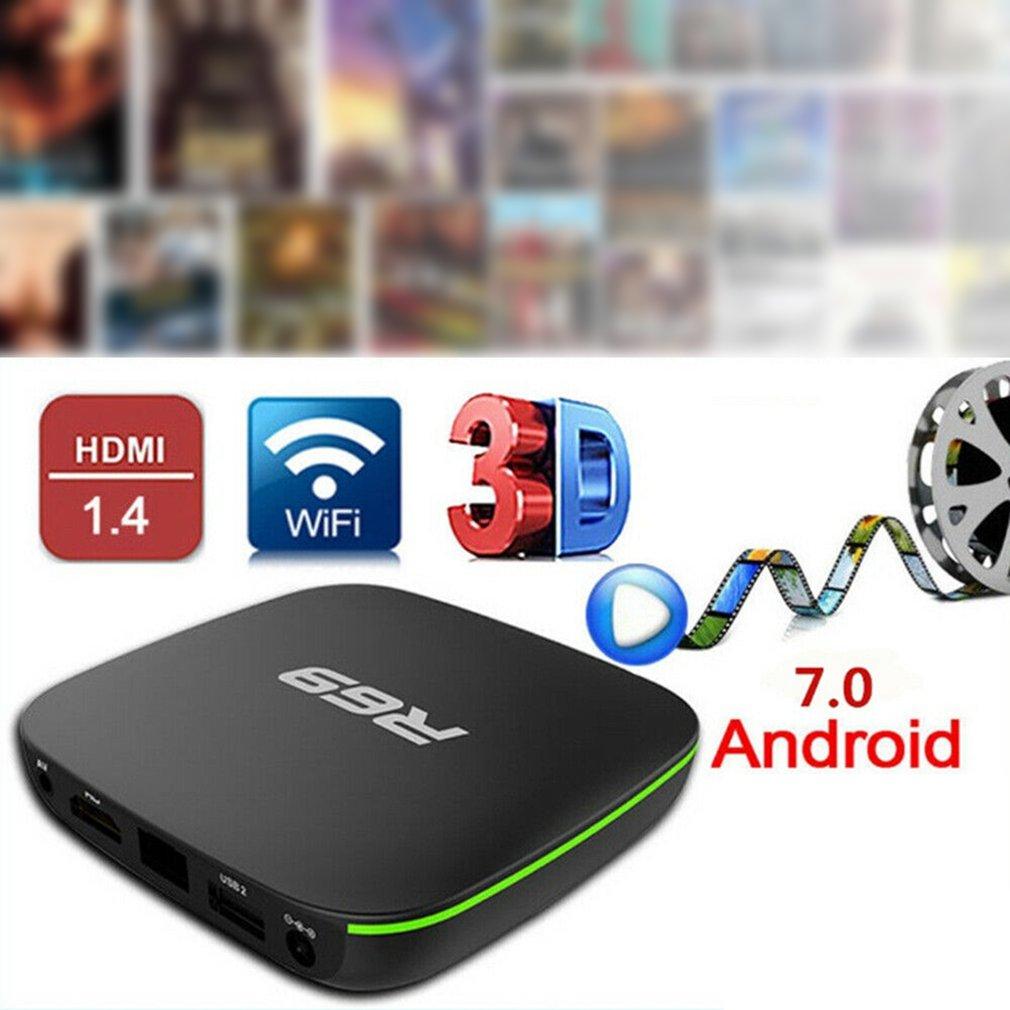ONLENY Android 7.1 Smart TV Box 1GB 8GB Allwinner H3 Quad-Core 2.4GHz Wifi 802.11 B/g/n 4K Wireless HD Media Player