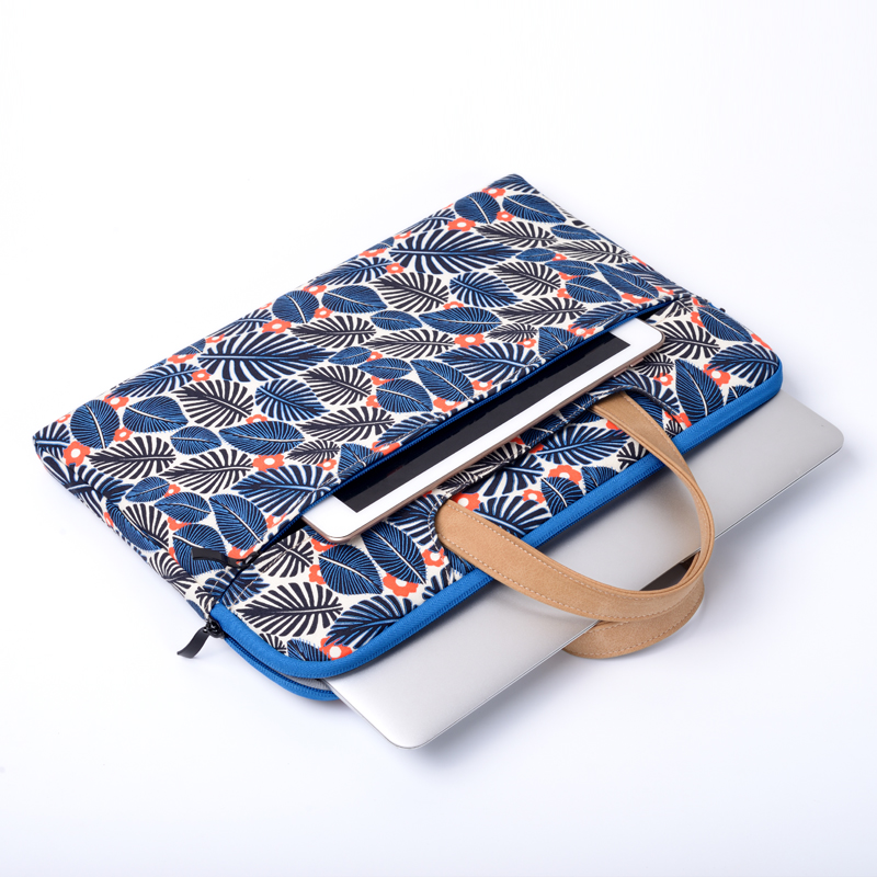 11/12/13.3/14/15/15.6 Inch Computer Bag Briefcase Macbook Air13.3 Inch Laptop Bag Fashion Printing Office Bags For Women Handbag