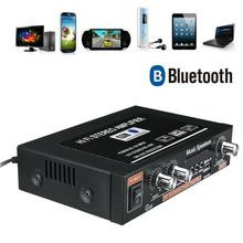 US Home Car bluetooth Audio Powers Amplifier High Fidelity Subwoofer with Amplifier 2CH Stereo Tuning Auto Car Remote bluet G1C2