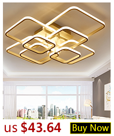 H2d96fee095e84b3da1c6e5ede777ae3bA Hot Sale Modern LED Ceiling Lights For Living Room Bedroom Dining Room Luminaires White&Black Ceiling Lamps Fixtures AC110V 220V