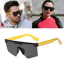 JackJad 2020 Fashion Cool Square Shield Style Top Sunglasses