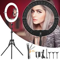 Selfie LED Light Video Light With 1.75m Light Stand Video Ring Lamp USB Photography Ring Lighting For Live Studio Makeup