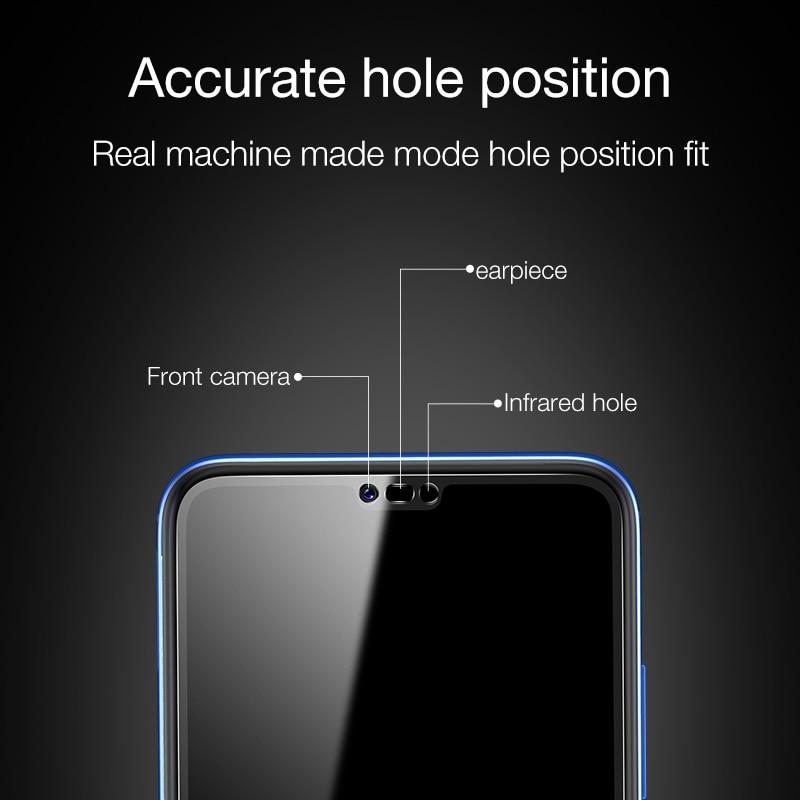 CAFELE Pelindung Layar untuk Huawei Honor 8 9 10 V10 20 V30 Pro 2.5D - Aksesori dan suku cadang ponsel - Foto 2
