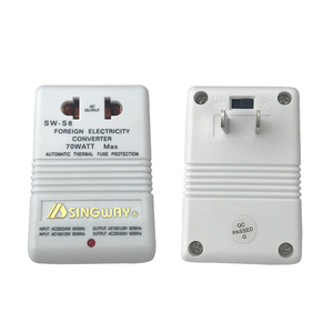 Transformador curso adaptador interruptor novo carregador profissional converter 220 v para 110 v step up/down dupla tensão 110 a 220 conversor