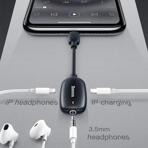 Image 2 - Baseus Âm Thanh Aux Adapter Dành Cho iPhone 11 Pro Xs Max Xr X 8 7 Tai Nghe Chuyển Đổi Lightning Sang 3.5 jack Cắm Cáp OTG Bộ Chia