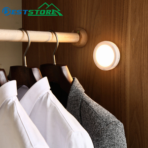 Image 4 - 6LED PIR Body Motion Sensor Activated Wall Light Night Light Induction Lamp Closet Corridor Cabinet led Sensor Light