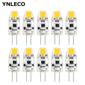 10pcs G4 LED Bulb 12V DC Dimmable COB LED G4 Lamp Lampadas Light Bulbs 360 Beam Angle No Flicker Replace 10W 15W Halogen Lamp