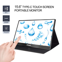 """Monitor 15.6""""1080P Portable Monitor touch screen Type C display Hdmi gaming monitor LCD monitor PC for PS4 Laptop Xbox Switch"""
