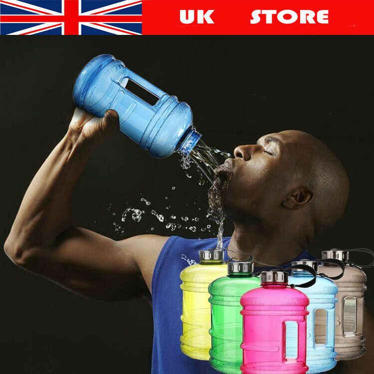 Resmi Olahraga Besar 2.2 Liter! Gym Kebugaran Ketel Di Luar Ruangan Air Shaker Berkemah