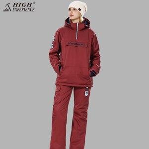 Image 4 - Winter Suit Women Ski Suit Men Snowboard Jacket Women Sport Suit Ski Jacket Women Skiing And Snowboarding Snow Clothes Female