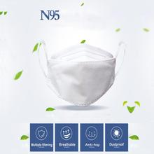 N95 Masks Face Masks Dustproof PM2.5 Masks Activated Carbon Filtration Exhaust Gas Unisex for Anti-odor, Anti-smog,Outdoor