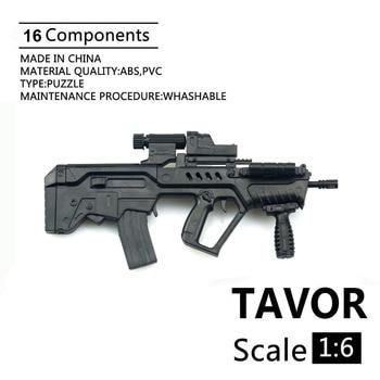 16 modèle dassemblage soldat 4D modèle israël TAVOR