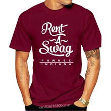 Rent A Swag Pawnee Indiana - Mens T-Shirt - 10 Colours - TV - FREE UK P&P(1)