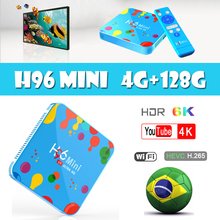 Quad Core H96 Mini Android 9.0 TV Box Allwinner H6 6K H.265 Wifi Bluetooth HD Youtube Set top IPTV box 4GB32GB DAZN