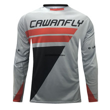 2021 MTB jersey DH Enduro Motocross Jersey wyścigi Off-górski rower szosowy Downhill t-shirty MX BMX jazda na rowerze Jersey odzież tanie tanio CN (pochodzenie) Poliester Stretch Spandex Pełna Wiosna summer AUTUMN Koszulki Nie zamek Pasuje prawda na wymiar weź swój normalny rozmiar