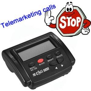 Image 4 - Pro Call Blocker Caller ID Blocker Stop Hinderlijke Oproepen FSK/DTMF Dual Systeem Schakelbare Blacklists Automatische Recognization