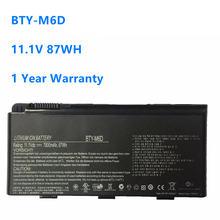 Bty m6d 111 v 87wh ноутбук Батарея для msi gt70 gt780 gt60 gx660r