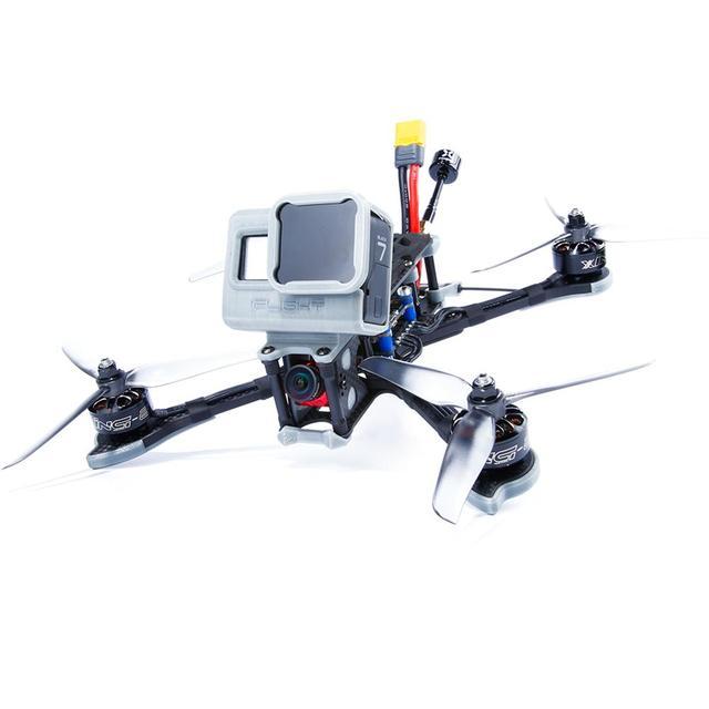 IFlight Nazgul5 Drone de 5 taille BNF, Drone de 227mm avec cadre XL5 V4/moteur XING E 2207/caméra Ratel Caddx FPV, pour kit de course