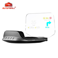 Newest Head Up Display OBD HUD Display Car Electronics Car Speedometers C3 Overspeed Warning OBD2+GPS Dual Mode GPS Speedometer