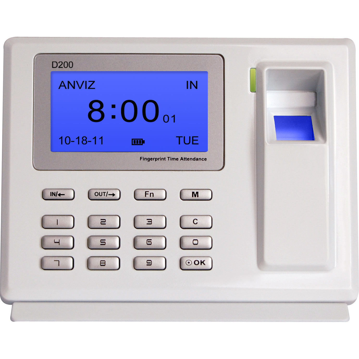 Anviz D200 Checkpoint Terminal Presence Footprint Connection Checkpoint USB Schedules, Shifts And Cycles