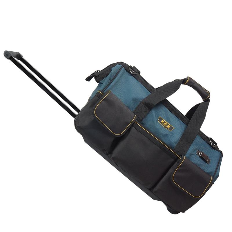 Large Capacity Tool Bag Canvas Portable Outdoor Camp Multifunctional Tool Bag Travel Bolsa Herramientas Tool Storage BD50TB