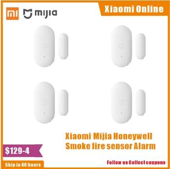 2020 Wholesale Original Xiaomi Mijia Intelligent Mini Door Window Sensor Pocket Size Smart Home Automatic lights for MIhome App