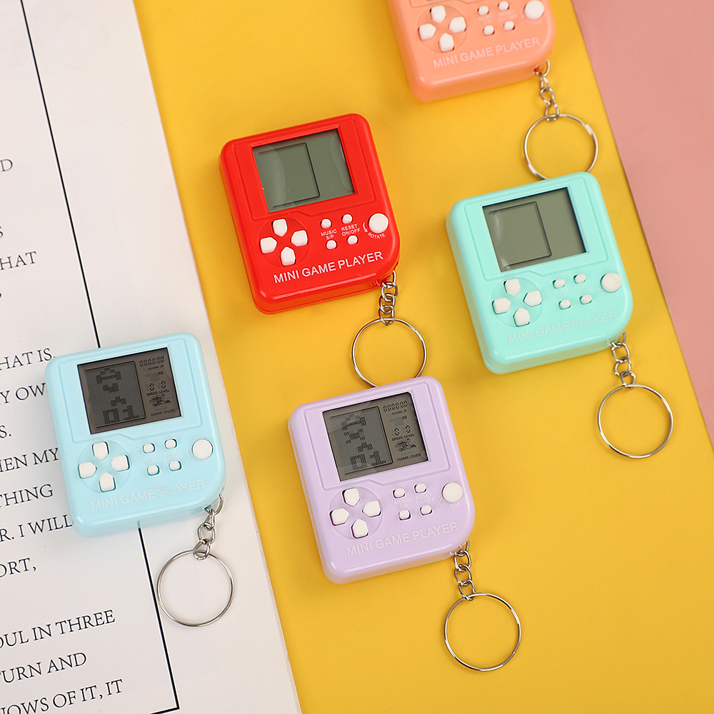JIANWU 6 Colors Cute Funny recreational machines Keychains Creative Personality Gift for Boys Girls
