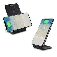 NILLKIN hızlı 10W kablosuz şarj, qi hızlı kablosuz şarj ped standı iPhone XS için/XR/X/8/8 artı Samsung not 8 /S8/S10/S10E