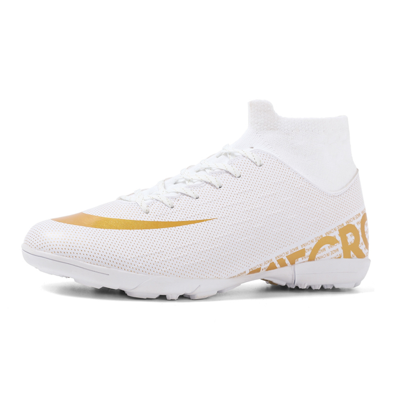 Sneakers Boots Soccer-Shoes Turf Spikes Futsal Ankle Child Indoor High-Top Long Soft title=