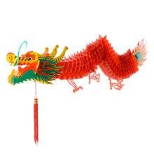 Ano novo chinês festival da primavera dragão lanterna de plástico pendurado lanterna ornamentos para decoração