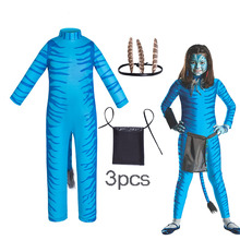 Costume Sully Avatar Jumpsuit Tail-Suit Cosplay Adult New 2-The-Way Jake of Water-Neytiri