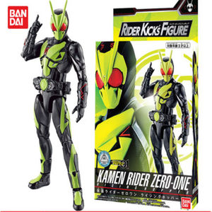 Image 3 - Bandai Kamen Rider zero one 01 Insect Form Shooting Wolf RKF Super Movable Hand Toys Figurals Model Dolls Brinquedos