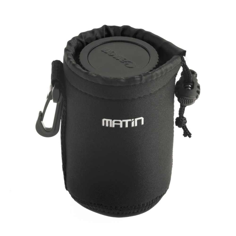 3 ミリメートル厚 (約) ネオプレンベルトループ世界マタンネオプレン防水ソフトのカメラのレンズポーチバッグケースプロモーション