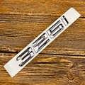 כרום מספר אותיות Trunk תג סמל מדבקה לרכב עבור BMW 3 סדרת 320 325 328 330 335 כרום שחור צבע תג סמל