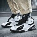 Баскетбольная обувь для мужчин  спортивная обувь с высоким берцем на воздушной подушке  уличные спортивные кроссовки  мужские спортивные к...