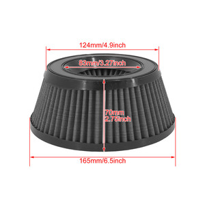Image 5 - Motorcycle Air Cleaner Intake Filter Inner Element Replacement Gray For Harley Touring XL Sportster Softail Dyna Road King Glide