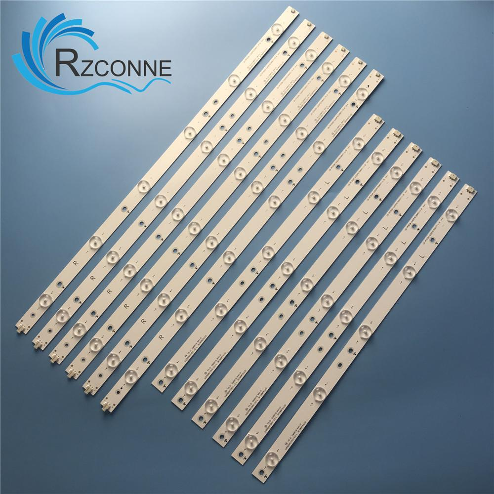 LED Backlight Strip For YX-11800731B0-2E562-0-A-539 + YX-11800732B0-2E562-0-A-539 TPT500DK-QS1 TPT500UK-DJ2QS5.N