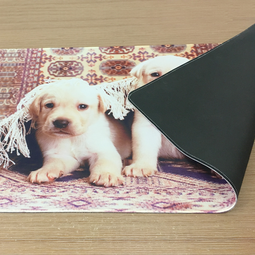 Goldendoodle Puppy Rectangular Non-Slip Gaming Mouse Pad Keyboard Rubber Mouse Pad for Home and Office Laptops