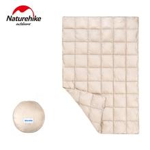 Naturehike зима осень весна 90% белый гусиный пух спальный одеяло коврик под одеяло Кемпинг путешествия сохраняет тепло одеяло