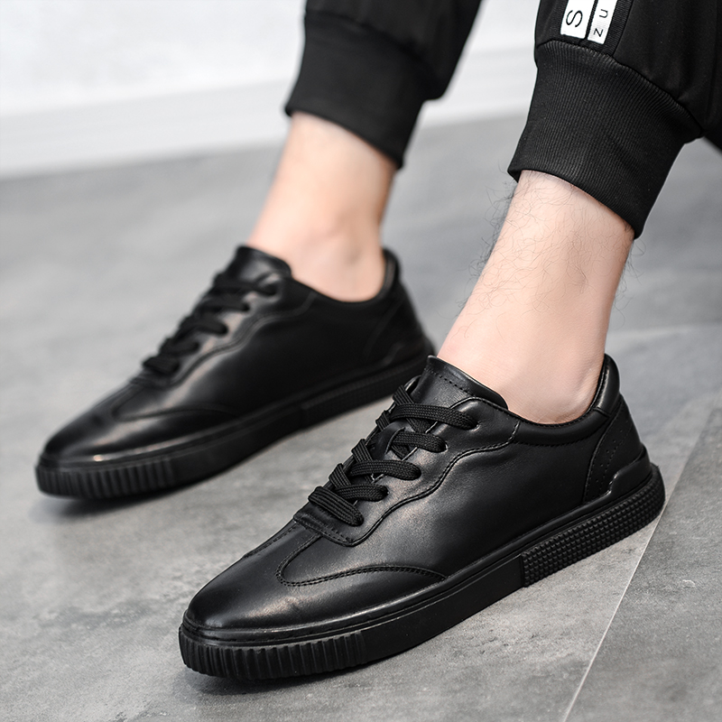 Fashion Genuine Leather Shoes Men Dress Shoes Lace Up Oxfords Shoes For Men Outdoor Designer Dress Luxury Men Formal Shoes S5