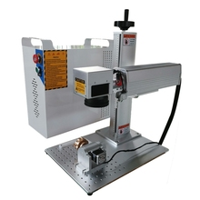 Raycus split Fiber Laser Marking Machine 20W 30W rotary axis included Metal Engraving for metal materials