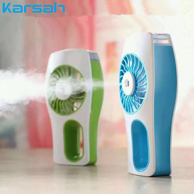 Mini USB Handheld Fan Portable Water Refilling Air Cooler Efficient Face Hydrating USB Fan Small Household Electrical Appliances Appliances