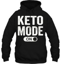 Men Hoodie Keto Mode On Latest Personality Fit Great Style Leisure Pop Women Streetwear(China)