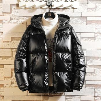 Cotton -padded Clothes MEN S 2020 New Winter Coat down Jacket Hooded Clothing
