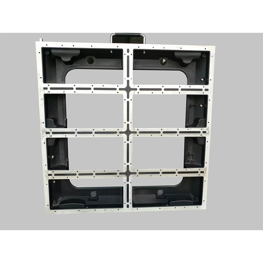 640x640mm Die Casting Aluminum Empty Cabinet  P5/P10 Indoor Outdoor Led Display Screen P5 Empty Cabinet Panel Rental